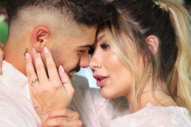 Zé Felipe e Virginia Fonseca se casaram
