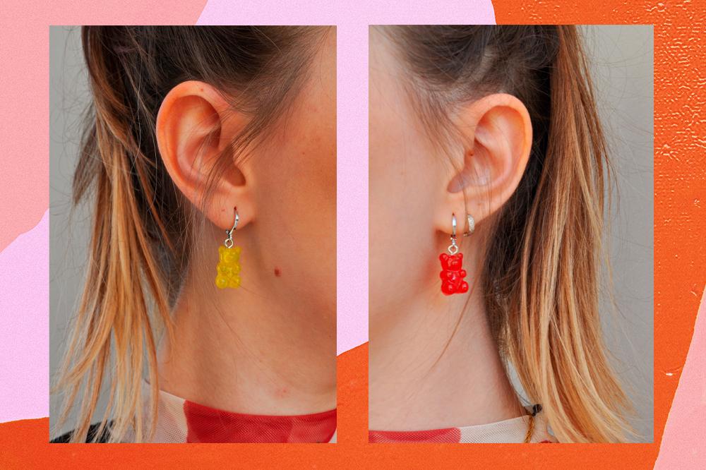 Acessórios gummy bear: a tendência que deixa seus looks mais divertidos