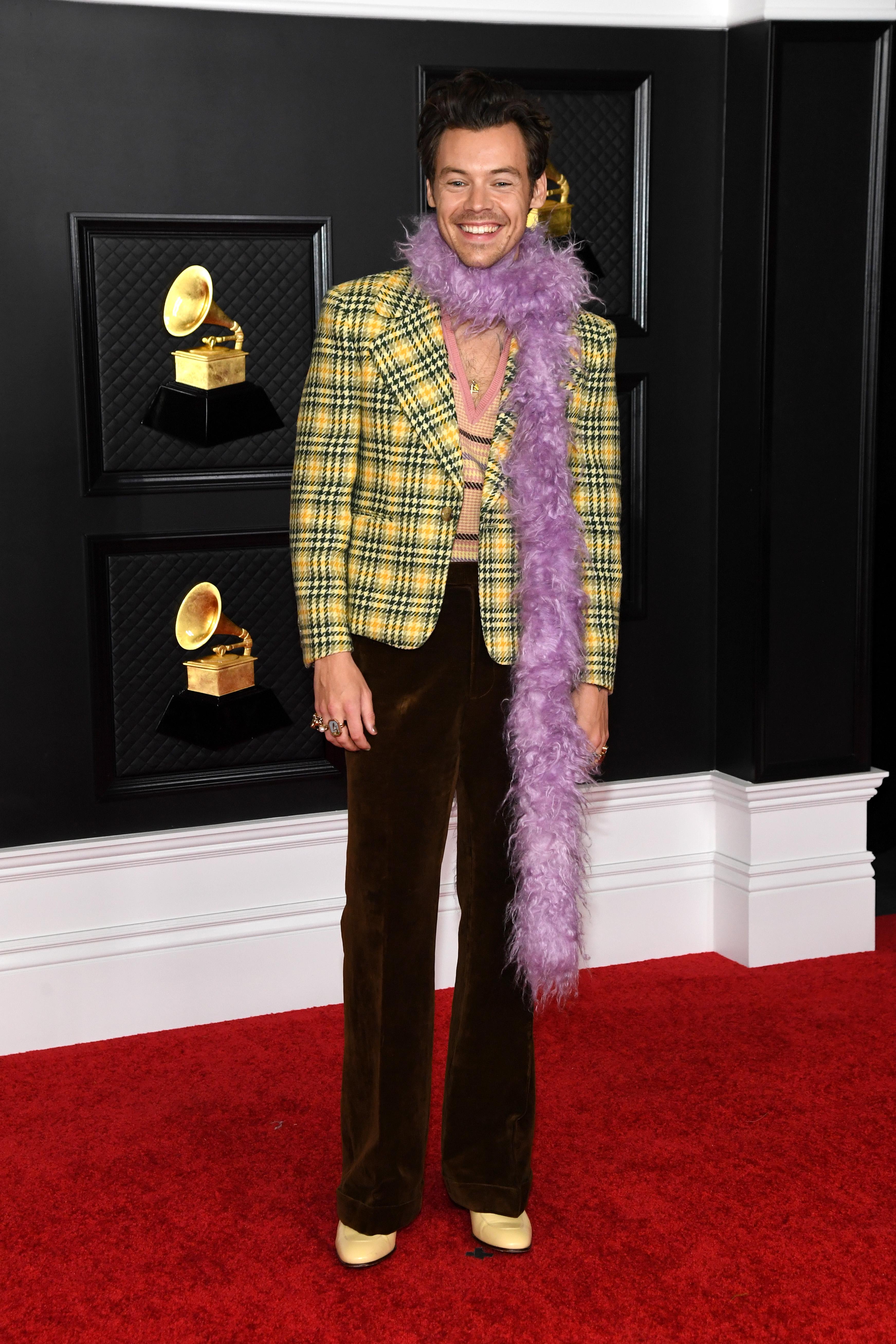 Harry Styles no Grammy 2021