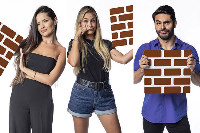Juliette, Sarah e Rodolffo