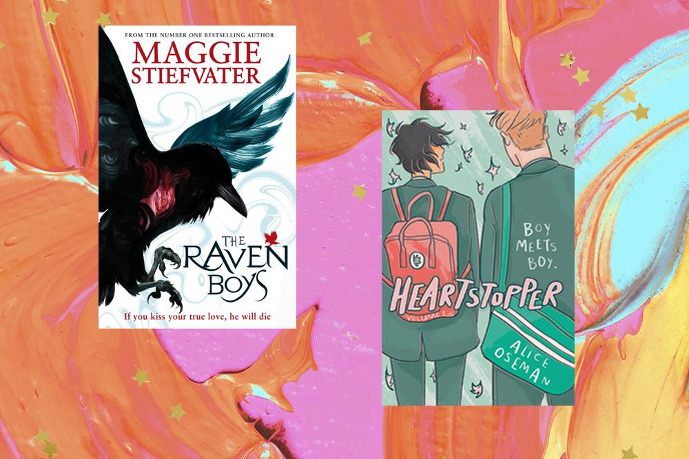Capas de Livros: The Raven Boys, Heartstopper