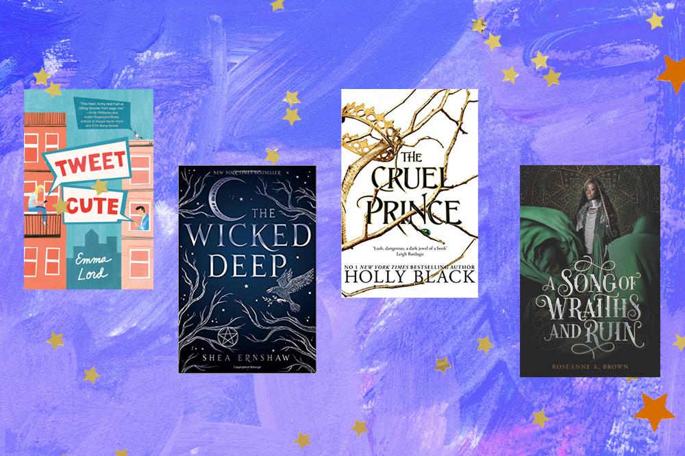 Capas de livros: Tweet Cute, The Wicked Deep, The Cruel Prince, A Song Of Wraiths and Ruin
