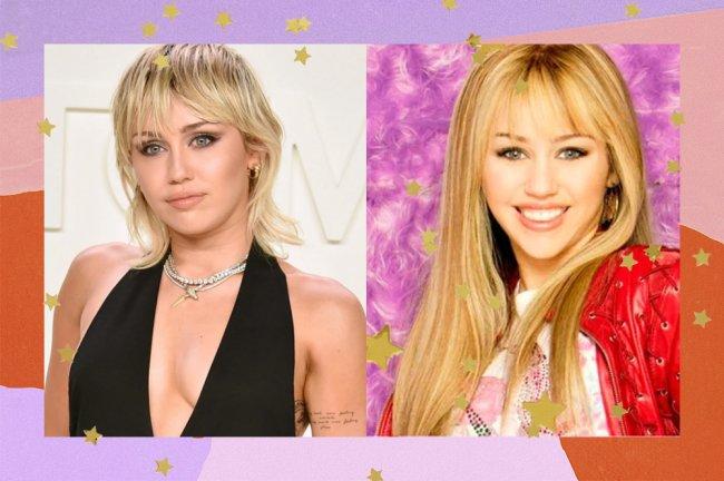 Miley Cyrus e Hannah Montana