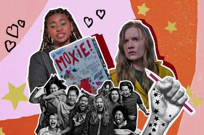 Colagem do filme Moxie