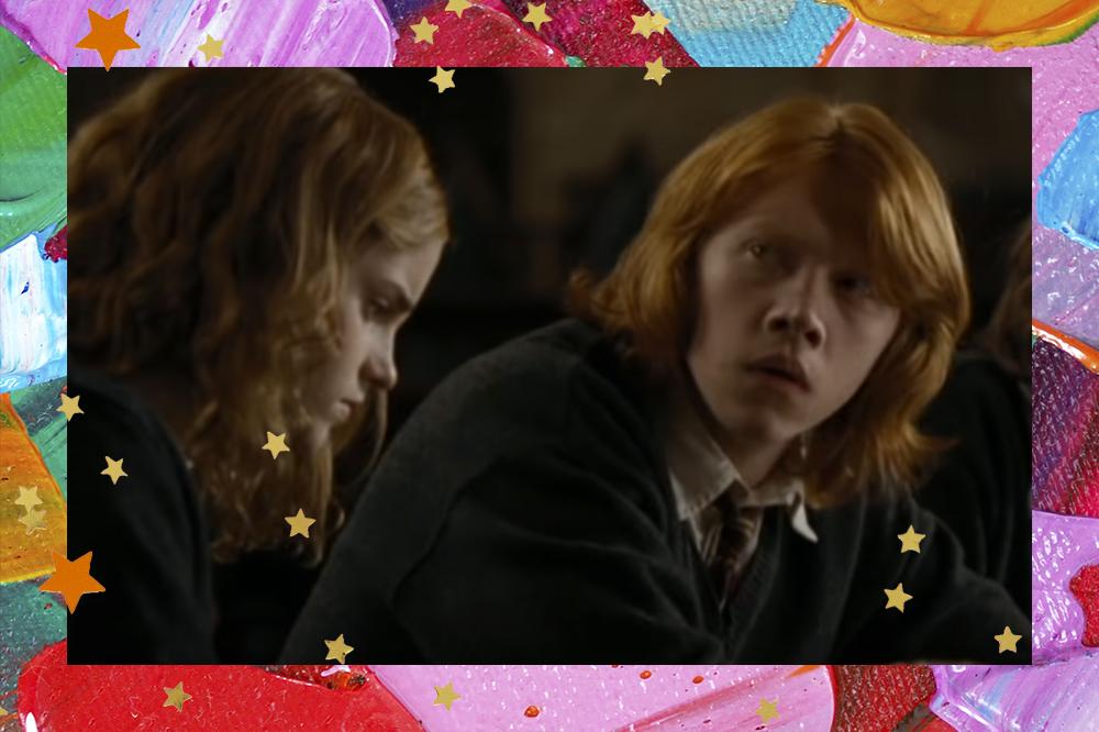 Rupert Grint como Ron Weasley em Harry Potter e o Cálice de Fogo