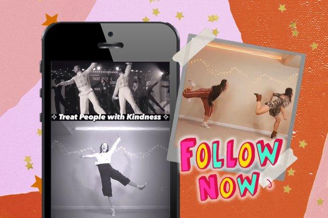 Esta dançarina reproduz as coreografias dos nossos filmes e clipes favoritos