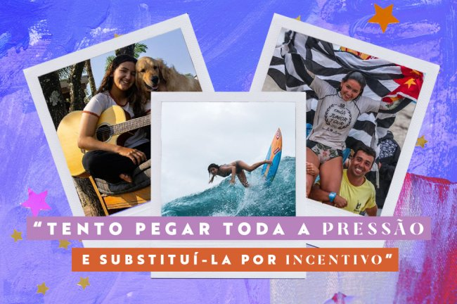 Sophia Medina: das pressões da adolescência ao sonho do mundial de surf