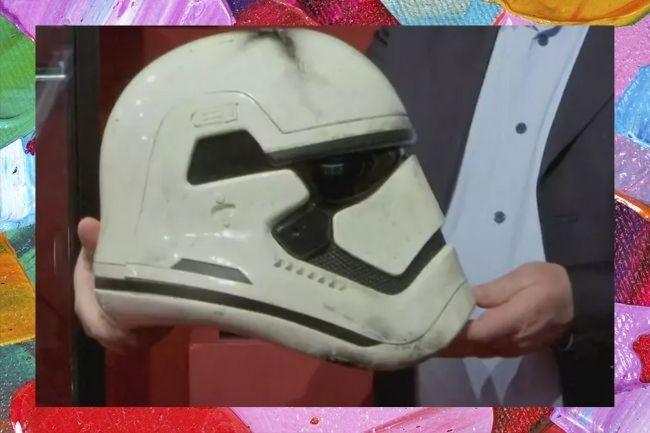 Item usado em gravação de Star Wars vai a leilão por 790 mil reais