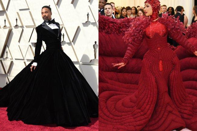 21 looks icônicos que foram usados em tapetes vermelhos na última década