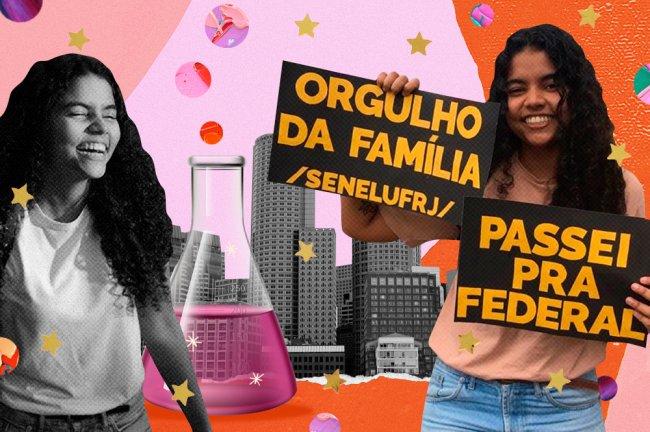 Negra e de cursinho comunitário, Thamiris é o futuro da ciência no Brasil