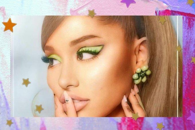Ariana Grande maquiagem