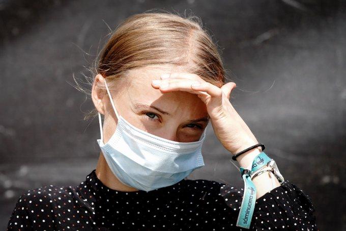 COVID-19: Greta Thunberg faz doação em prol da vacinação igualitária