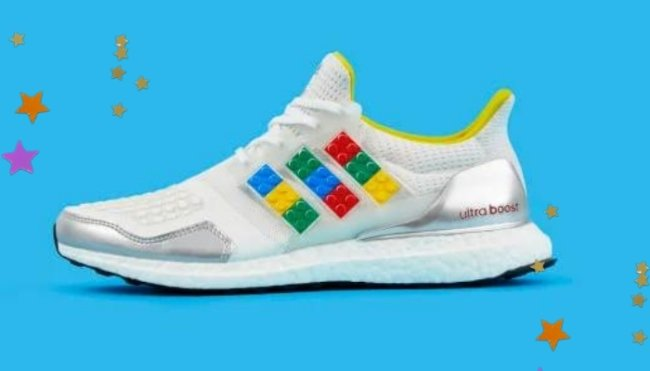 Lançamento Adidas x Lego