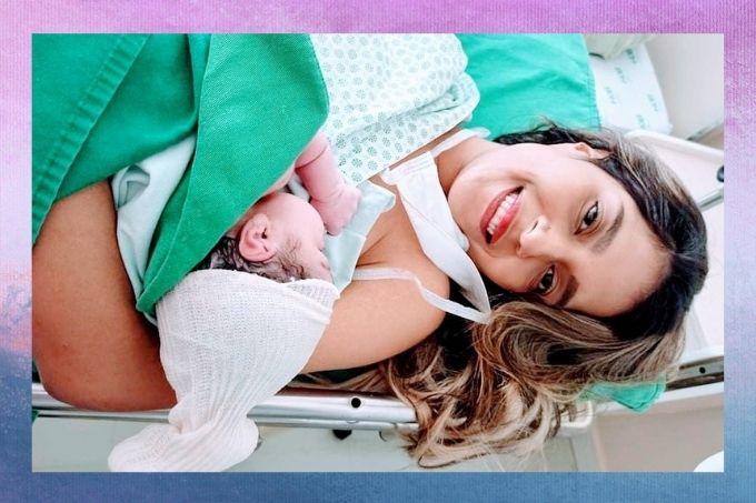 Jovem, que pensava estar com gastrite, descobre gravidez na hora do parto