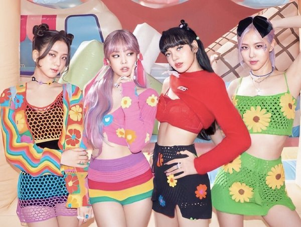 Grupo de K-Pop BLACKPINK