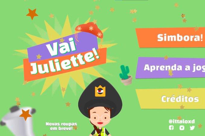 Vai Juliette! Fã cria jogo de celular em homenagem à participante do BBB21
