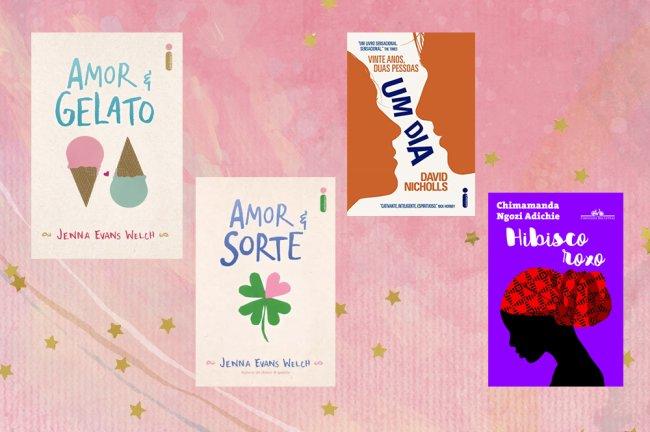 Amor & Gelato; Amor & Sorte; Um Dia; Hibisco Roxo