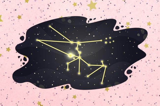 Ilustração da constelação de Touro
