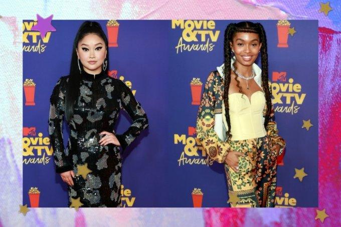 Lana Condor e Yara no MTV Movie TV Awards