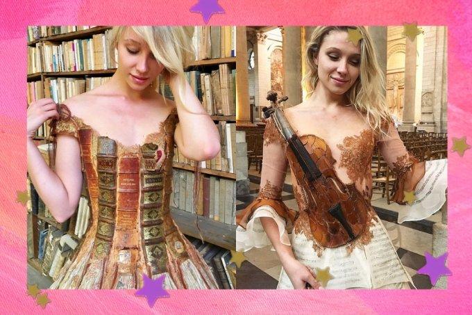 Vestidos da Sylvie Facon