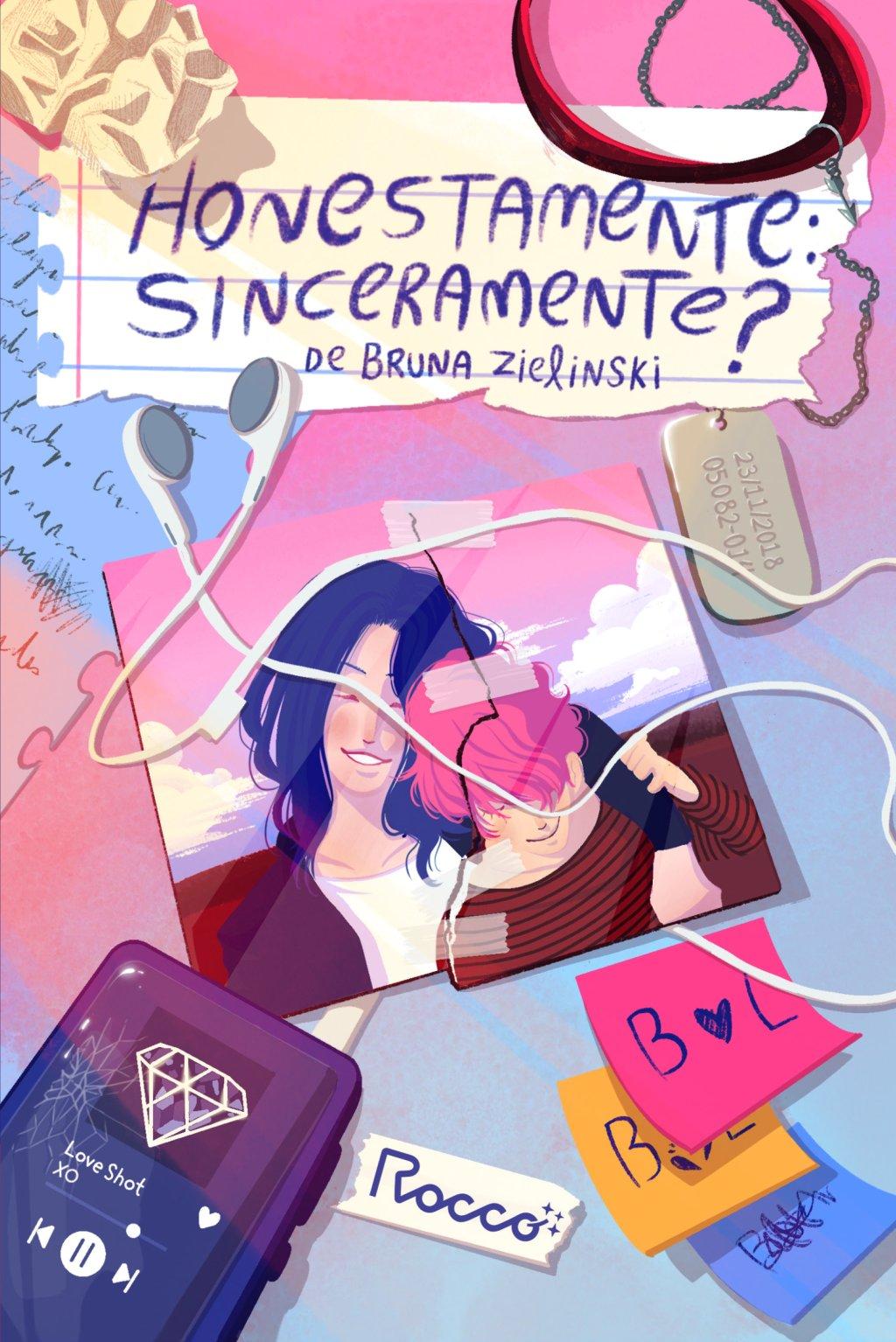 Conheça Honestamente: Sinceramente?, livro inspirado em fanfic de K-pop |  Capricho