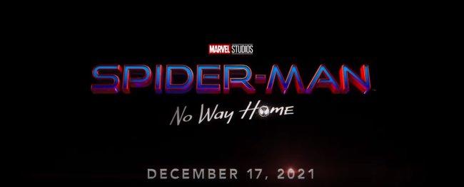 Cartaz do novo filme do Homem-Aranha escrito
