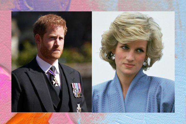 Principe Harry e sua mãe, Princesa Diana