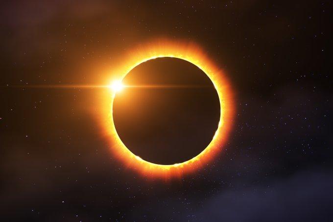 Veja as previsões para o eclipse solar que ocorre nesta quinta-feira, 10