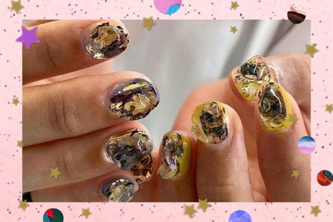 Inspirações de nail art jelly nail 3d