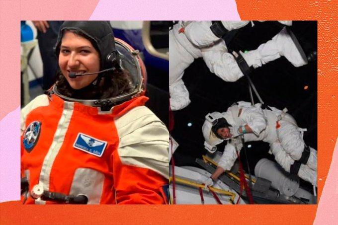Brasileira estuda para ser astronauta nos USA e quer 'inspirar outras garotas'