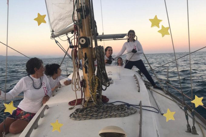 Grupo de mulheres luta contra machismo na vela e sonha com a Cape2Rio 2023