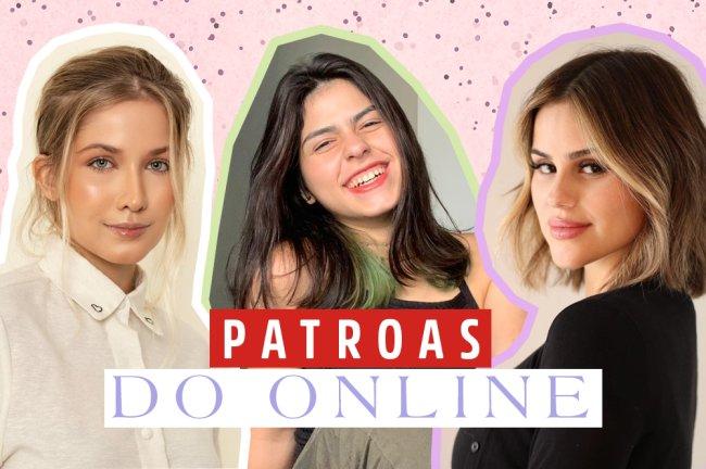 Montagem com as fotos de Mari Bonawitz, Barbara Coura e Isabela Matte