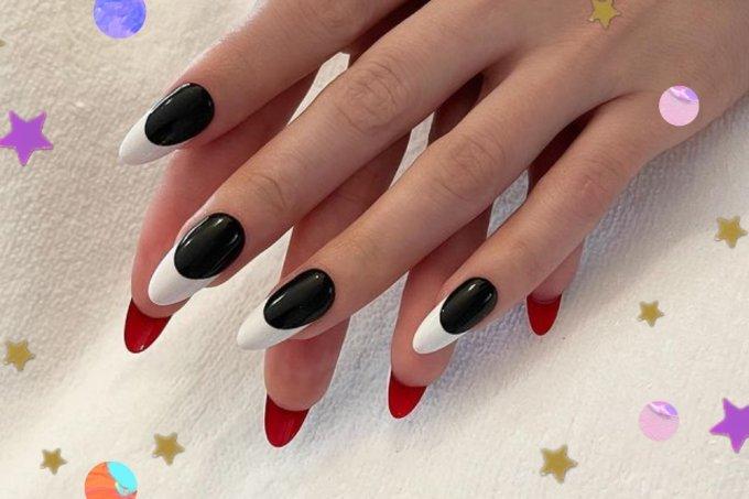 inspirações de nail art flipside