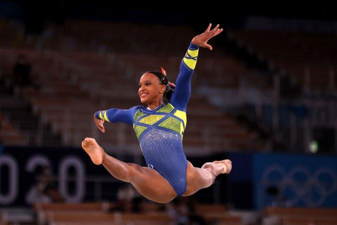 Rebeca Andrade brilha na ginástica e conquista prata pro Brasil em Tóquio