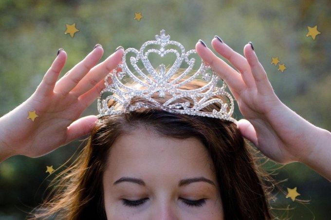 coroa princesa
