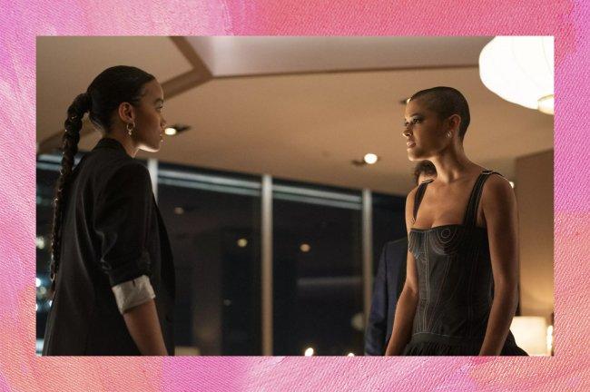Julien e Zoya em Gossip Girl