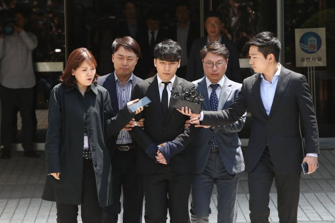 Seungri of BIGBANG Appears At Seoul Central District Court
