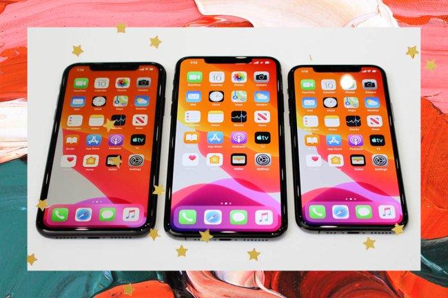 Imagem de três Iphone 11