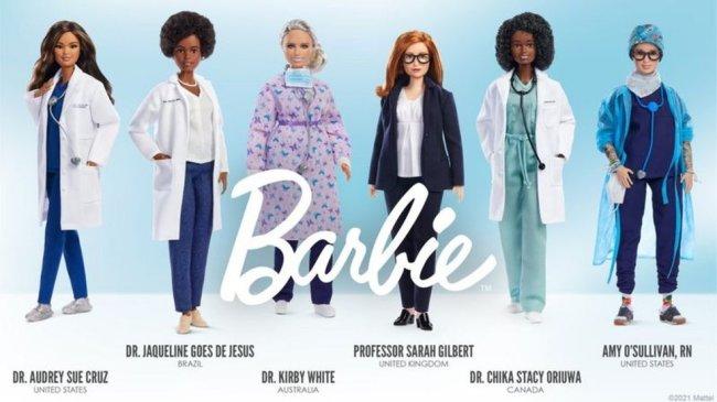 Bonecas Barbie lançadas em homenagem a cientistas brasileiras