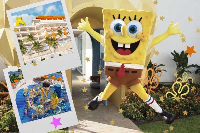 Nickelodeon inaugura parque aquático do Bob Esponja em Cancun