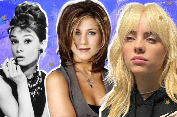 cortes de cabelo no decorrer das décadas
