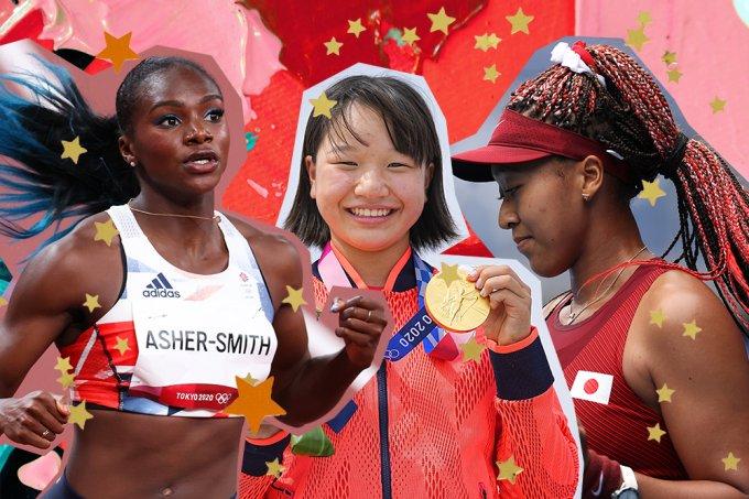 olimpiadas-toquio-dina-asher-smith-momiji-nishiya-naomi-osaka