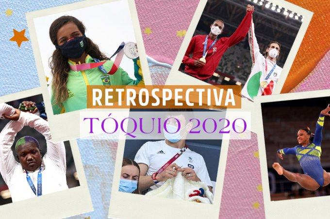 Retrospectiva: 20 momentos que marcaram as Olimpíadas de Tóquio 2020