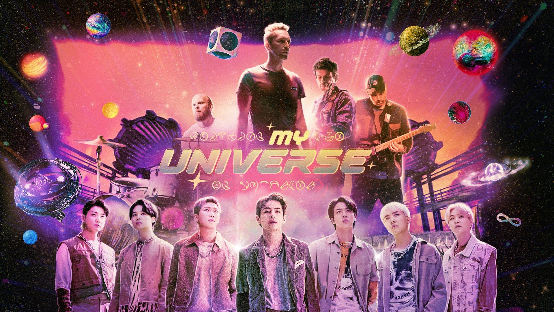 Coldplay e BTS lançam clipe de outro planeta para o single My Universe | Capricho