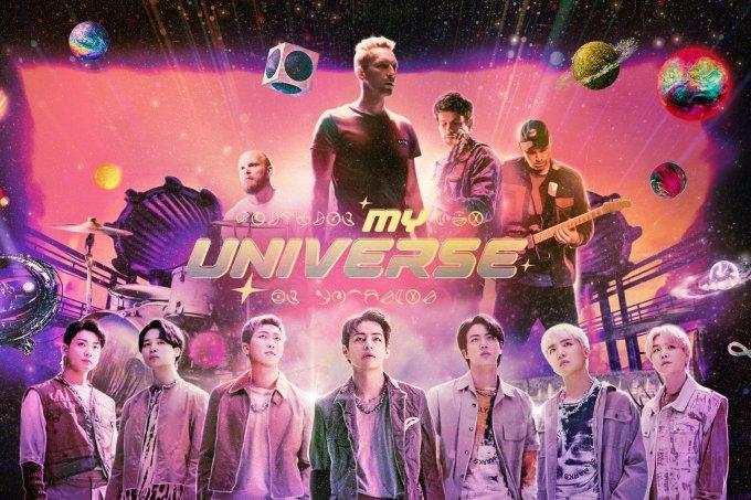 BTS-Coldplay-MyUniverse-divulgação
