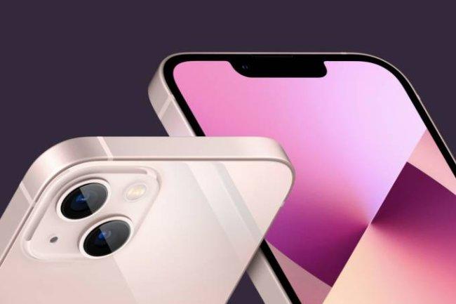 Novo Iphone 13 disponível no rosa