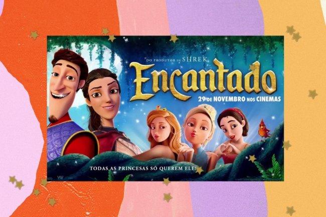 Cartaz filme Encantado
