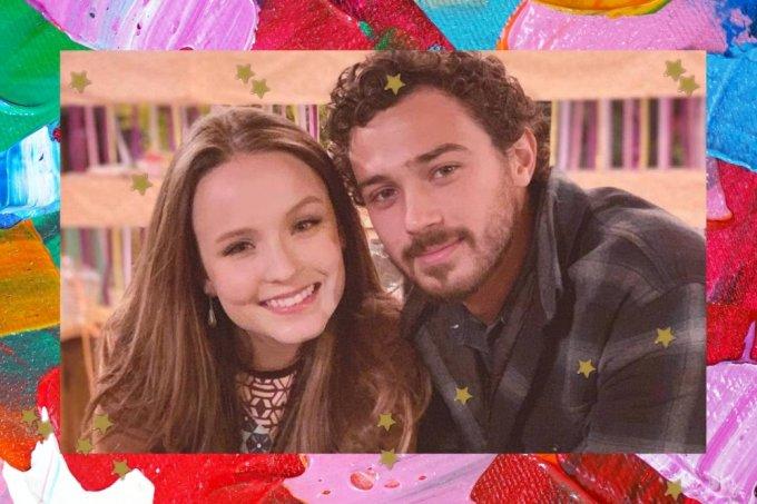 Larissa Manoela e Andre