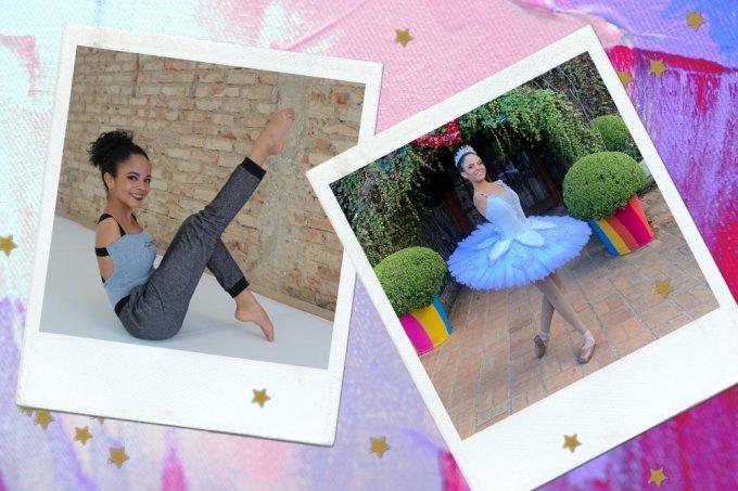 Vitória Bueno, bailarina que nasceu sem os braços