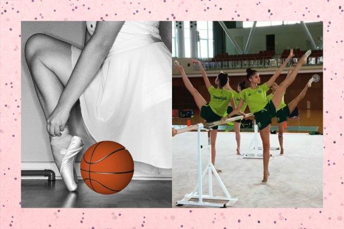 Sabia que o ballet é usado por atletas de vários esportes, como do basquete?